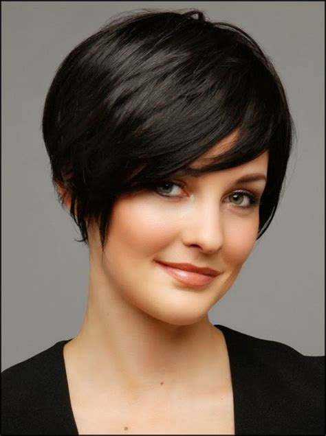 short hairstyles  oval faces hair fashion