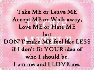 Dont Accept Me As I Am Quotes