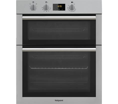 buy hotpoint class  dd  ix electric double oven