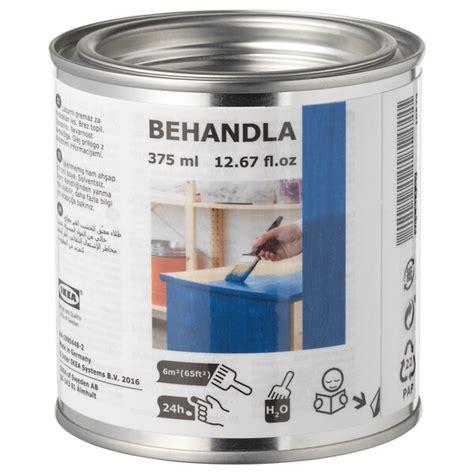 behandla glazing paint blue ikea