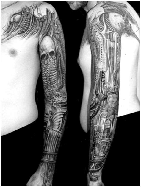 29 best images about Bio Mechanical Tattoo Design on Pinterest