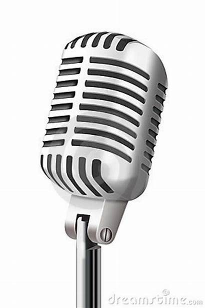Microphone Clip Clipart Drawing Vector Mic Cliparts