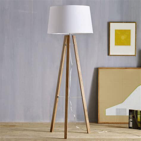tripod wood floor lamp west elm australia