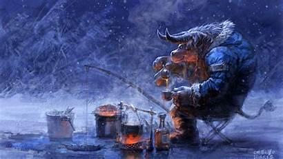 Warcraft Wallpapers Wow Tauren Background 1920 Winter