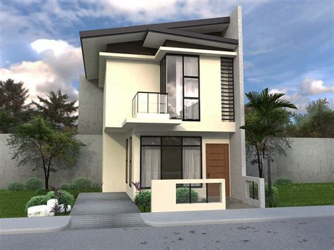 2 stories house small 2 storey house plans collection best house design