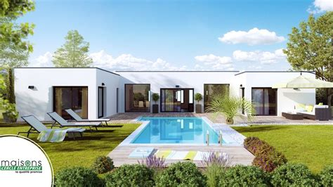 maison contemporaine mod 232 les et plans cercle enteprise
