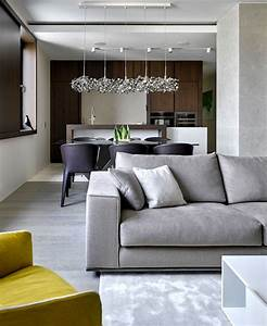 Apartment with Panoramic View of Moscow City - InteriorZine