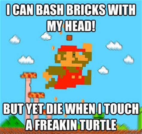 Funny Mario Memes - monkey gamer reviews video game memes
