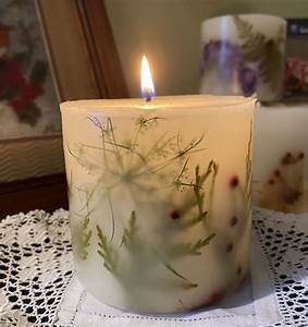 Unique, Floral, Candles, Handmade, Natural, Pressed, Dry, Flower, Botanical, Summer, Candle, Aromatherapy
