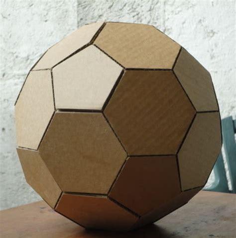 como hacer la maqueta de  domo geodesico  cartulina