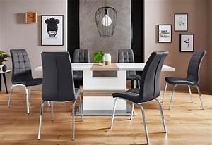 Tisch Mit 4 Stühlen : essgruppe perez lila mit 4 st hlen tisch ausziehbar breite 160 200 cm online kaufen otto ~ Frokenaadalensverden.com Haus und Dekorationen
