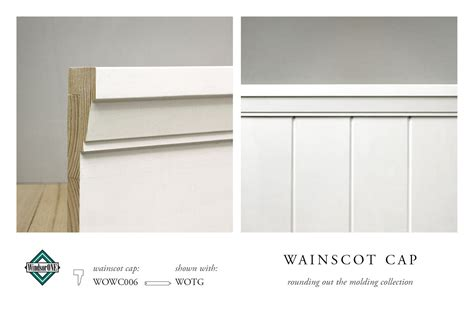 Wainscoting Cap Rail by Wainscot Caps Federal Panel Moldings Detail Moldings In