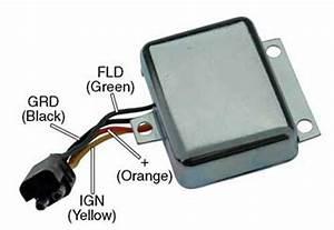 Voltage Regulator Ford Tractor 4600 4610 5600 5610 5900
