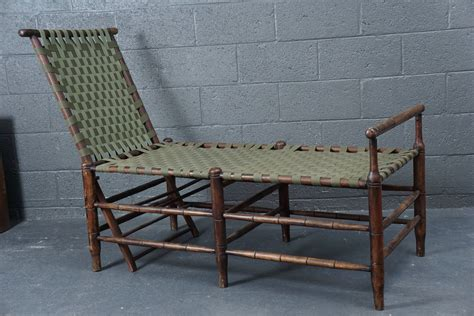 adirondack chaise adirondack adjustable chaise at 1stdibs