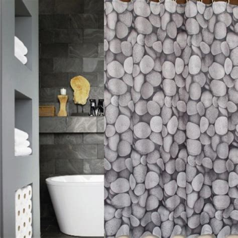 Double Vanity Bathroom Ideas by Unique Shower Curtains Bathroom Contemporary With