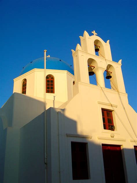 Greek White And Blue Why Are The Buildings In Greece