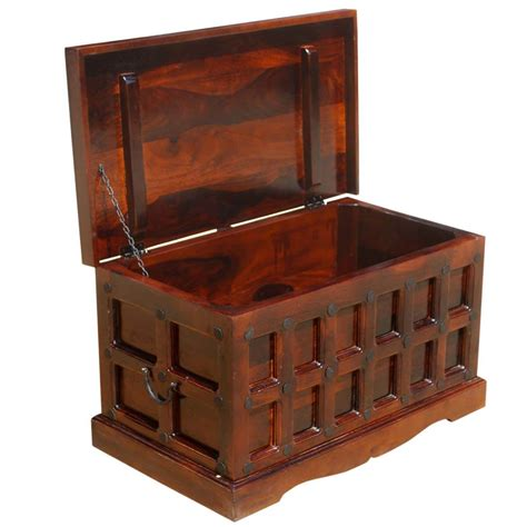 Great savings & free delivery / collection on many items. Solid Wood Trunk Coffee Table Blanket Storage Chest