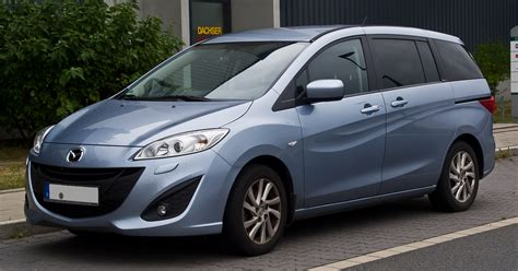 Mazda 5 Picture by File Mazda5 Ii Frontansicht 25 August 2013