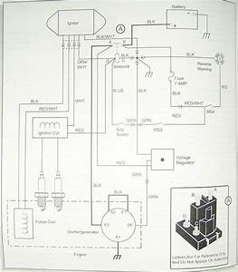 1989 Ez Go Golf Cart Solenoid Wiring Diagram