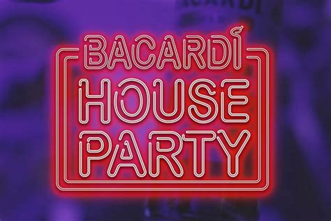 Bacardi House Party Session Unveils Their Next Rocking