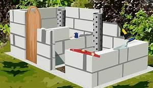 Construire Mur Parpaing : construire un composteur en parpaing plan de construction ~ Premium-room.com Idées de Décoration