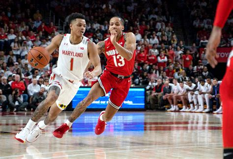 ranked test   maryland mens basketball