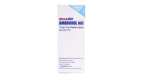 obat mucos ambroxol ambroxol tablet 30 mg ambroxol ibn al haytham syrup each 5