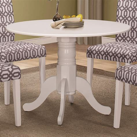 single leg dining table allston cottage style round dining table single pedestal