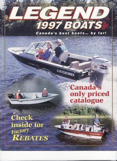 Legend Boats History by 2002 Legend Boats Genx Fully Priced Catalog Cover Legend