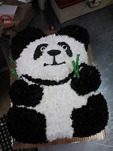 delighted panda cake template photos example resume With panda bear cake template
