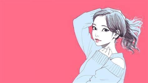 Gambar Anime Wallpaper - gambar wallpaper kartun perempuan gudang wallpaper