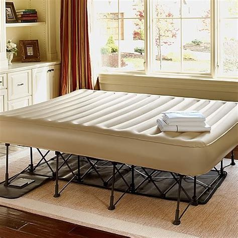 essential ez bed inflatable guest bed twin frontgate