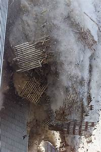 close up of the wtc collapsing - September 11, 2001 Photo ...