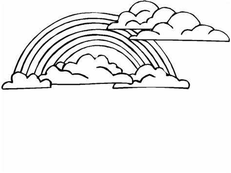 Coloring Pages Of Rainbows by Free Printable Rainbow Coloring Pages For