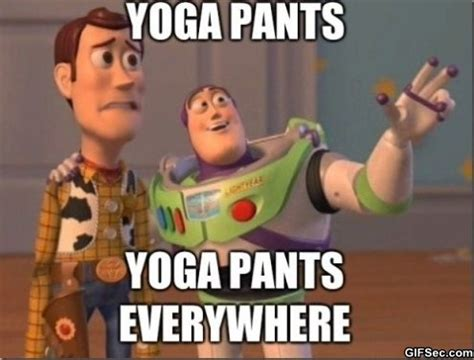 Meme Pants - funny yoga pants meme