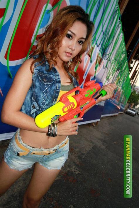 Hot Teenage Model Michells Thingyan Fashion