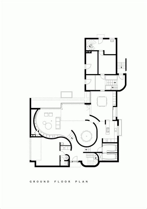 House Architecture Plans by Gallery Of House N Hasselt Massarchitects 25 Ground