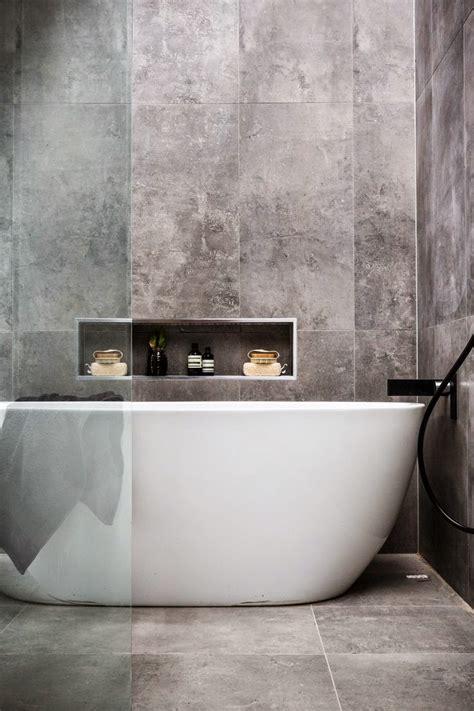 Beton Fliesen Bad by Concrete Effect Bathroom Tiles Norse White Design