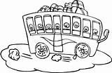 Bus Trip Coloriage Dessin Field Coloring Enfant Bestof Play Clipart Packed Kidsplaycolor sketch template