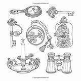 Coloring Chamber Magical Omeletozeu Story Daria Song Garden Books Guardado Desde Drawing sketch template
