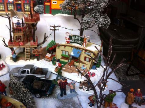 trailer park christmas village youtube