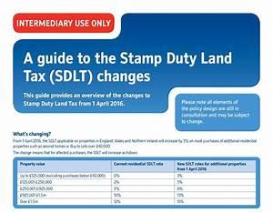 Stamp Duty Land Tax  Sdlt  Changes April 2016