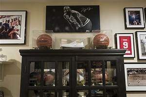 Decorating with sports memorabilia Home and Garden