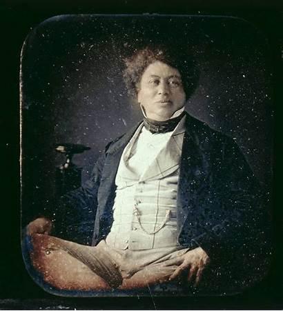 Alexandre Dumas Stereoscopic Daguerreotype Animated Chubachus 1851