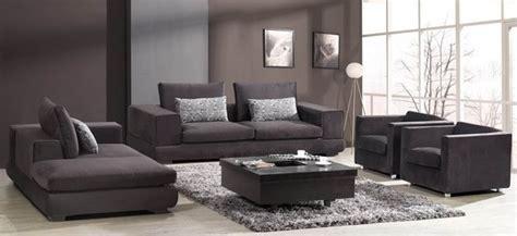 barnile  pieced microfiber sofa set modern living