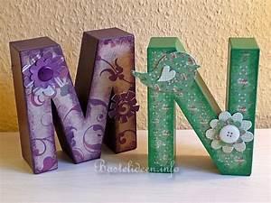 Buchstaben Aus Pappe : geschenke basteln pappmach buchstaben ~ Sanjose-hotels-ca.com Haus und Dekorationen