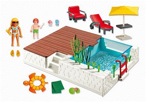 playmobil 5575 piscine avec terrasse achat vente