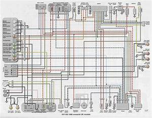 1992 Xv1100 Wiring Diagram