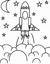 Rocket Ship Coloring Craft Pages Flower Printable Colouring Rockets Sheets Space Sheet Spaceship Printables Astronaut Boys Smarty Pants Fun sketch template