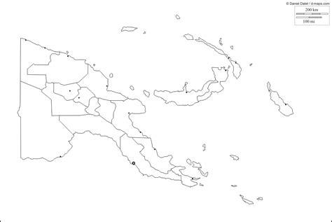 papua  guinea maps